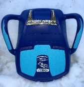 DE-ICER BLUE w. Soft Blue Seat and Handle set